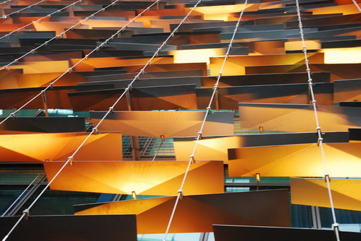 by building facade lighting