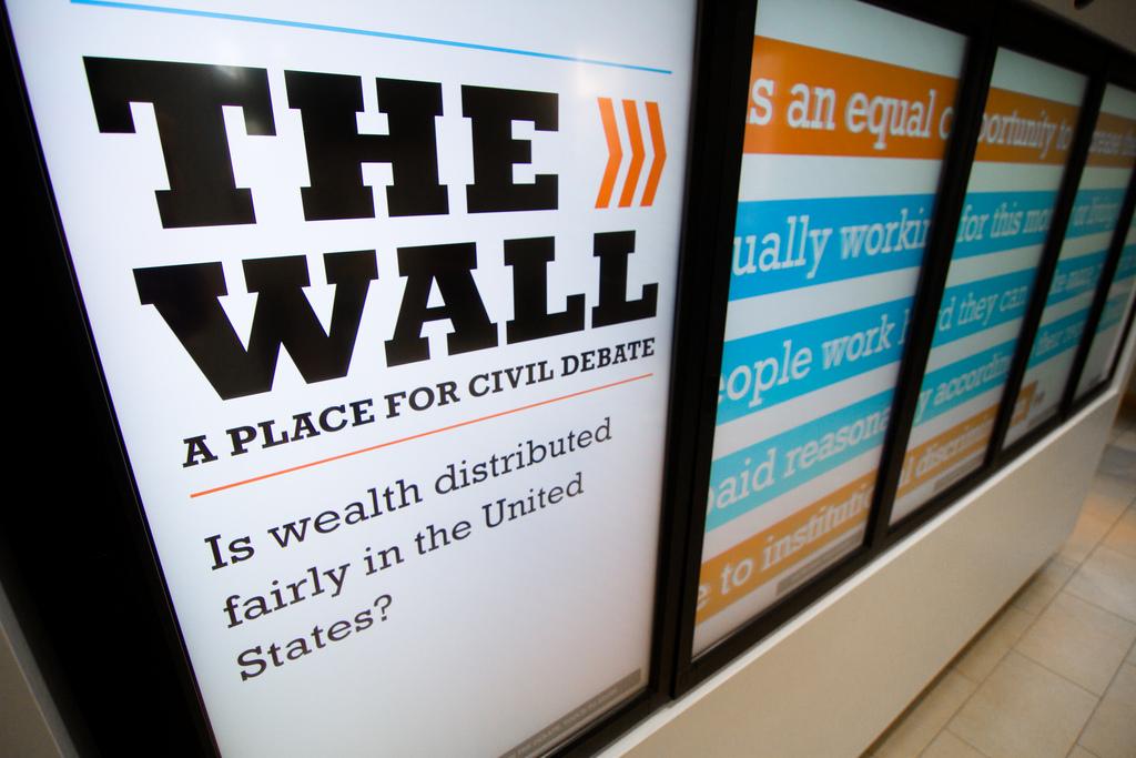 Civil Debate Wall
