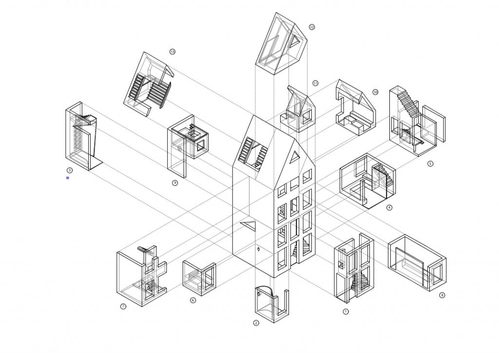 3D Print Canal House &Copy; DUS architects - 3dprintcanalhouse.com