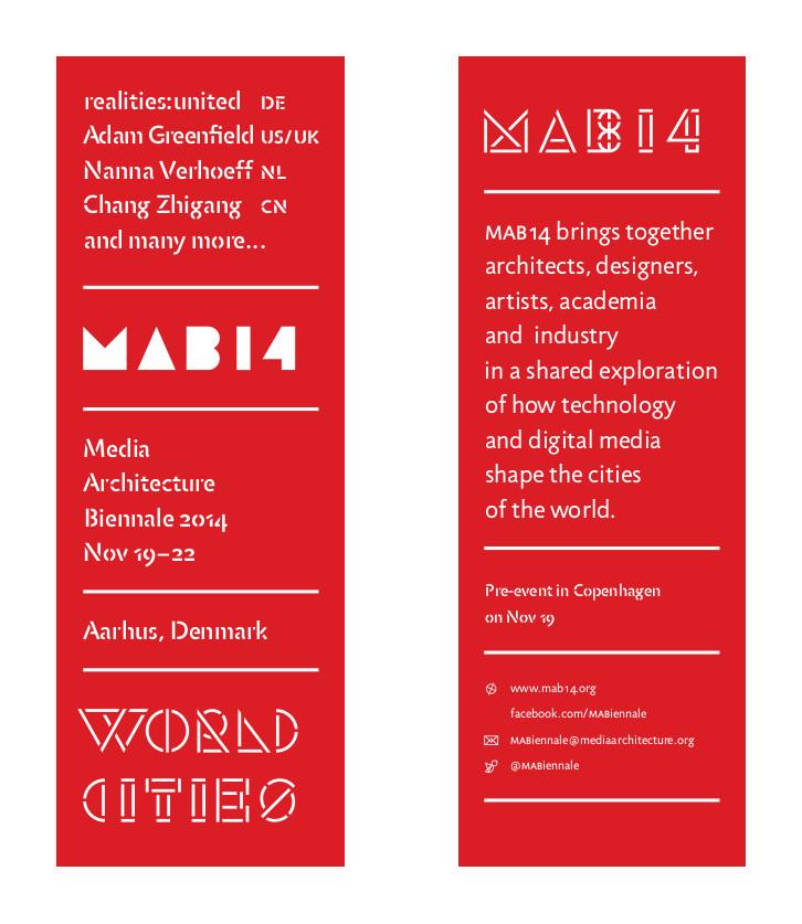 Media Architecture Biennale Postcard