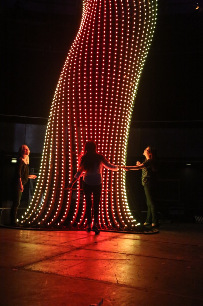 Arboreal Lightning - Art installation at the Camden Roundhouse © Alex Haw - Atmos