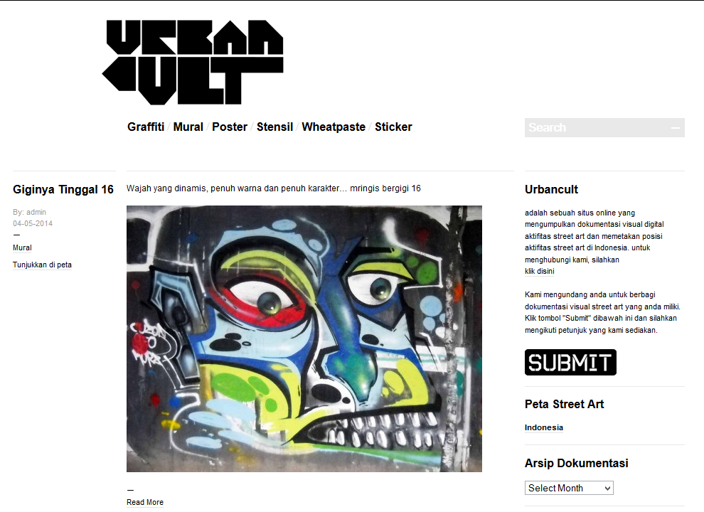 Urbancult - Street art in Indonesia © urbancult.net