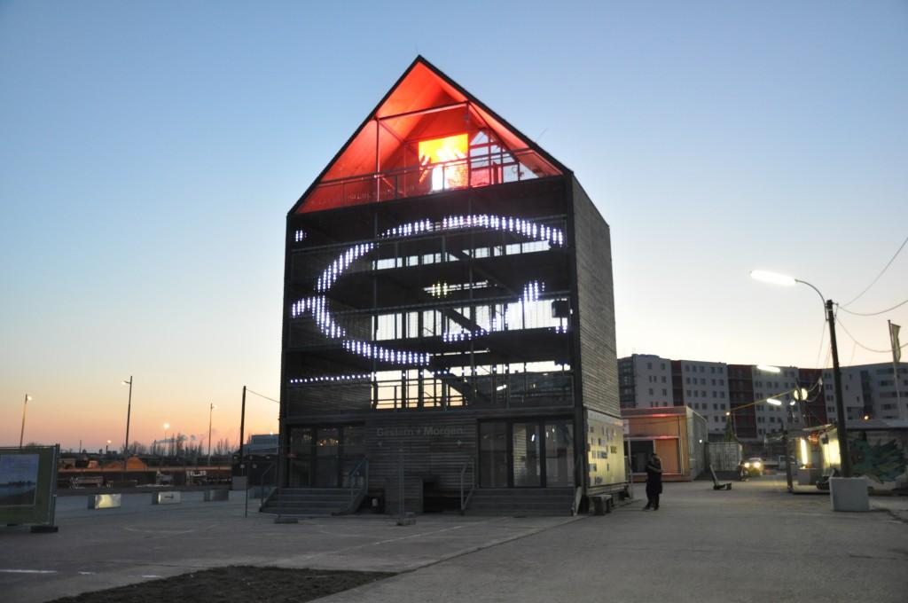 Flederhaus, Aspern Seestadt, Wien. © 2015 - Juan Carlos Carvajal B. - Media Architecture Institute.