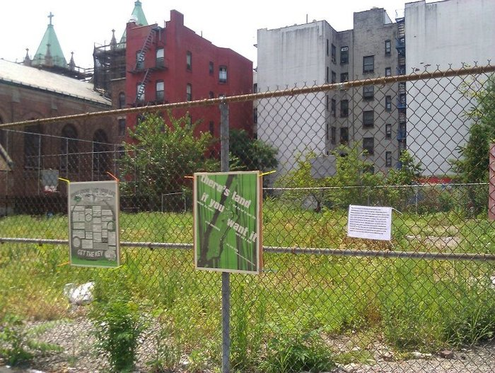 596 in East Harlem © 596 Acres