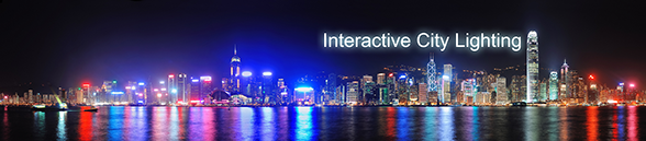 Interactive city lighting